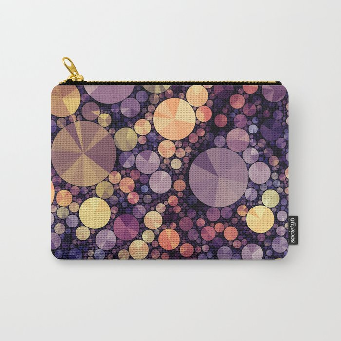 Purple Berries Carry-All Pouch