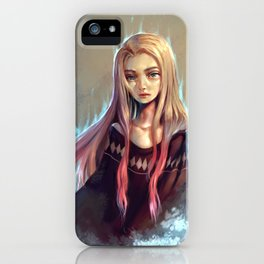 Icy Heart iPhone Case
