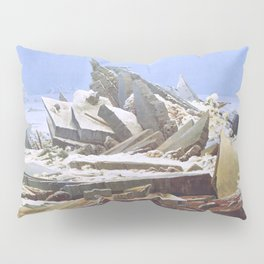The Sea of Ice - Caspar David Friedrich Pillow Sham