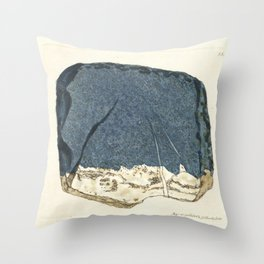Lapis Lazuli Throw Pillow