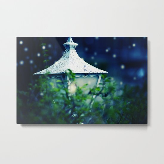 Where The Fairies Live Metal Print