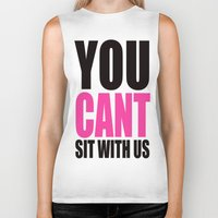 mean girls Biker Tanks featuring Mean Girls Quote by TurquoisedHearts
