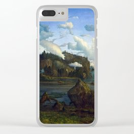 Lars Hertervig The Tarn Clear iPhone Case