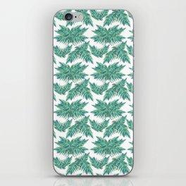 Djungel fever- retro palmtree iPhone Skin