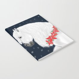 Christmas Horse Notebook