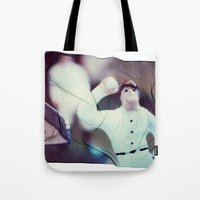 baseball Tote Bags featuring Baseball by Tyler Hewitt