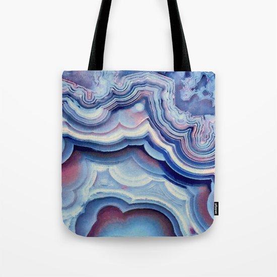 Agate lace Tote Bag
