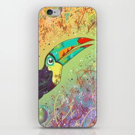Toucan Can Do It! iPhone Skin