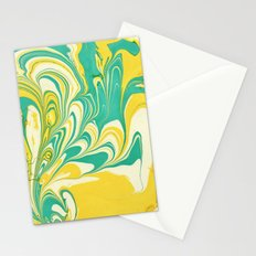Painting in water Stationery Cards
