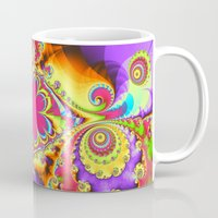 tropical Mugs featuring Tropical  by thea walstra