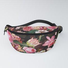 Vintage & Shabby Chic - Midnight Rose Garden Fanny Pack