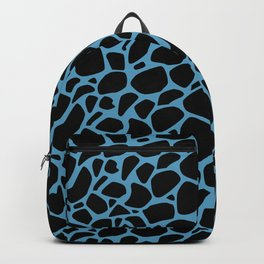 Blue scales pattern Backpack