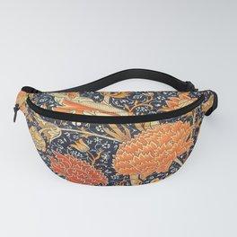 William Morris Cray Floral Art Nouveau Pattern Fanny Pack