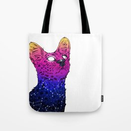 Galaxy Serval Tote Bag