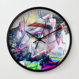 Private eyes Wall Clock