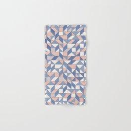 Shifting geometric pattern Hand & Bath Towel
