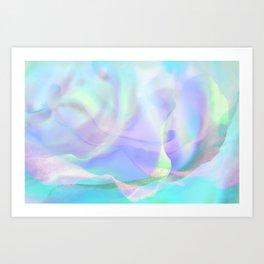 Essence of Rose IX Art Print