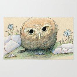 Scowling Owl Rug