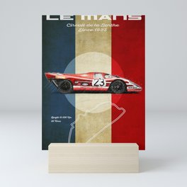 Le Mans Vintage Salzburg Mini Art Print