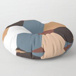 Honeycomb Hexagon Floor Pillow