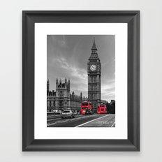 London Buses Framed Art Print