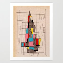 - tower - Art Print