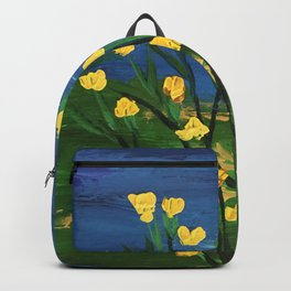 My yellow flowers Backpack
