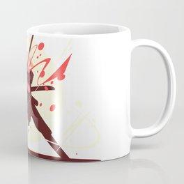 Samurai With Sword Illustration Art Coffee Mug