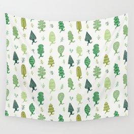 Run Forest Run Pattern Wall Tapestry
