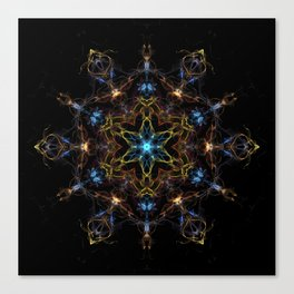Full Spectrum Mandala Canvas Print