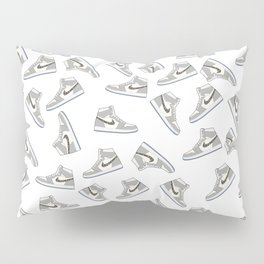 Jordan 1 OG Grey Pattern Pillow Sham