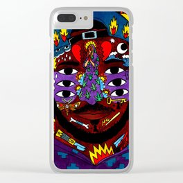 Kaytranada 99.9% Clear iPhone Case