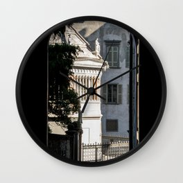 Window to the light Wall Clock