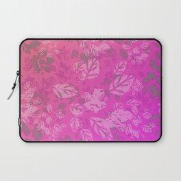 Pink Print Laptop Sleeve