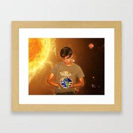 Take Over The World!!! Framed Art Print