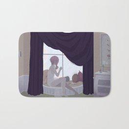 Linneus at the Window Bath Mat
