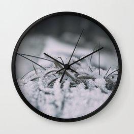 WINTRY 01 Wall Clock