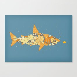 Snack Attack Canvas Print
