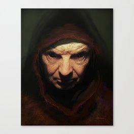 Death Face Canvas Print