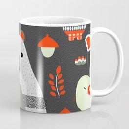 Christmas bears and birds Coffee Mug