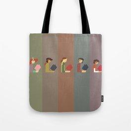 Lumber Ladies Read Tote Bag
