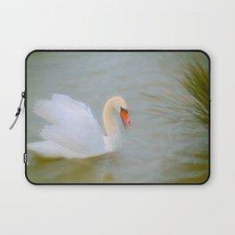 Soft swan lake Laptop Sleeve