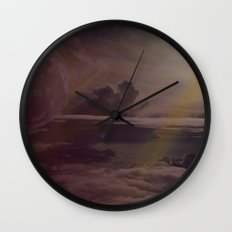 Bright Skies Wall Clock