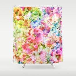 tendres fleurs des champs Shower Curtain