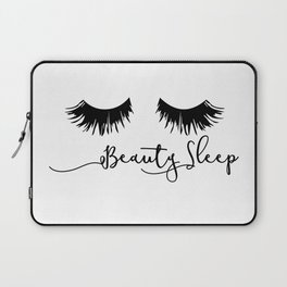 Beauty Sleep Laptop Sleeve