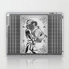 Legend of Zelda Shiek Princess Zelda Geek Line Art Laptop & iPad Skin