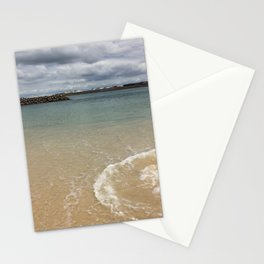 Beautiful clear water at Yarra Bay Beach Stationery Cards