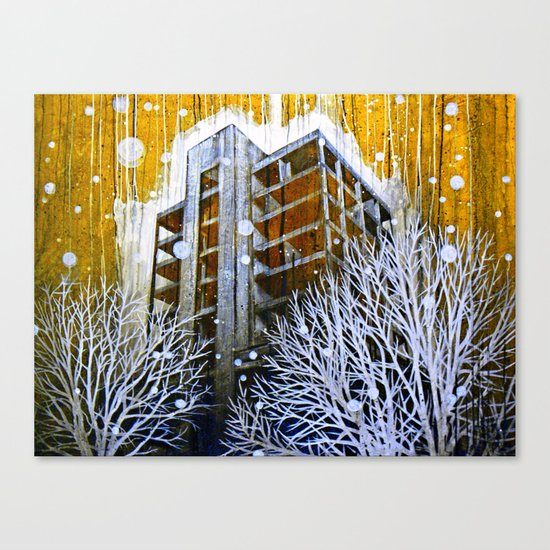 """The Fortress"" Canvas Print"