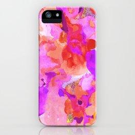 Lava Elements (Cosmic Watercolour) iPhone Case