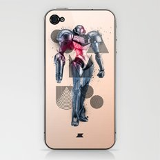Heroes and Villains Series 2: Samus iPhone & iPod Skin